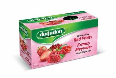 DOGADAN RODE FRUITS 12X20 GR