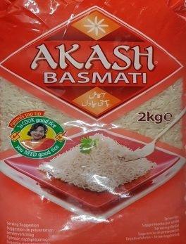 AKASH BASMATI RIJST 4X2 KG