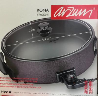 ARZUM ROMA PIZZA PAN 40X9 CM
