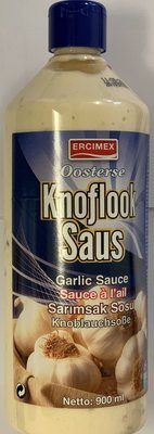 ERCIYES KNOFLOOKSAUS OOSTERSE 6X900 ML