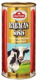 EGETURK BABACAN KNAKWORST 6X900 GR