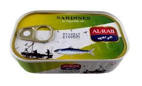 ALRAII SARDINES 50X125 GR