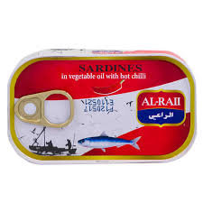 ALRAII SARDINES HEET 50X125 GR