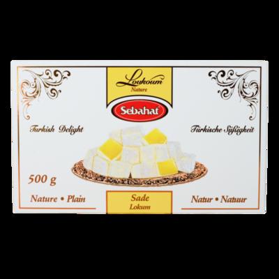 SEBAHAT TURKS FRUIT VANILLA 12X500 GR
