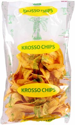 KROSSO BANAAN CHIPS 20X150 GR