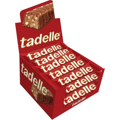 TADELLE CHOCOLADE MET HAZELNOTEN 20X30 GR