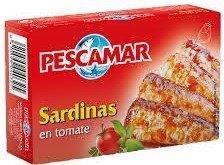 PESCAMAR SARDINES MET TOMAAT 50X115 GR