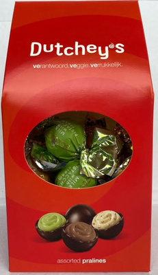 DUTCHEYS PRALINES CHOCOLA 12X250 GR