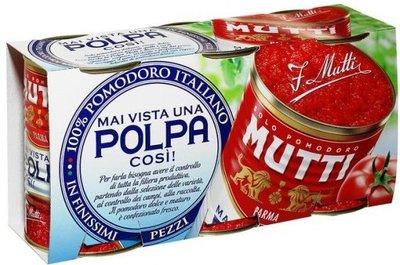 MUTTI POLPA GESNEDEN TOMAAT 8x3X400 GR