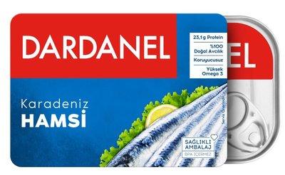 DARDANEL ANJOVIES IN OLIE 12X100 GR