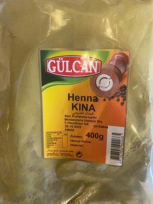 GULCAN HENNA 20X400 GR