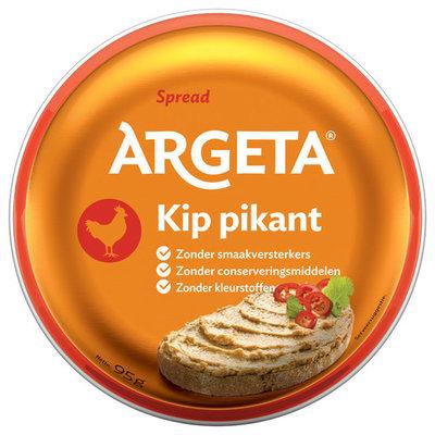 ARGETA KIP PIKANT 12X95 GR