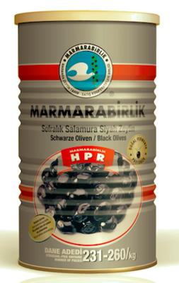 MARMARABIRLIK HIPER ZWARTE OLIJVEN (L) 6X800 GR
