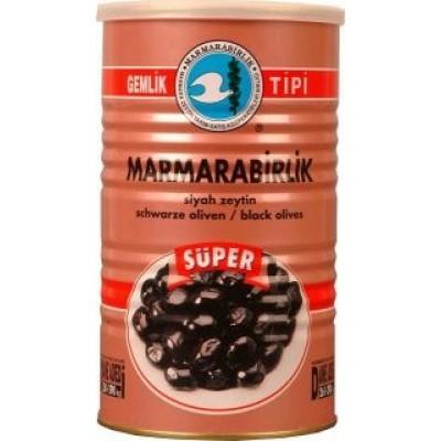 MARMARABIRLIK SUPER ZWARTE OLIJVEN (M) 6X800 GR