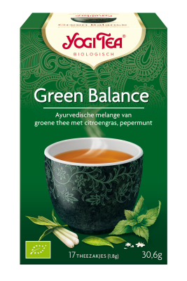 YOGI THEE GREEN BALANCE 6X17 STUKS