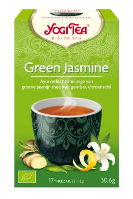 YOGI THEE GREEN JASMINE YOGI 6X17 STUKS