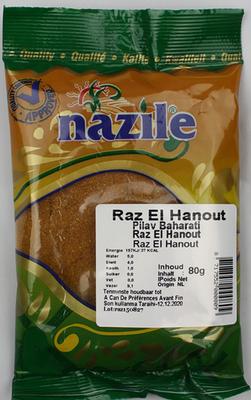 NAZILE RAZ EL HANOUT 15X80 GR