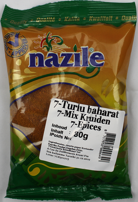 NAZILE 7 KRUIDENMIX 15X80 GR
