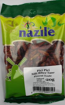 NAZILE PIRI PIRI PEPER 15X20 GR