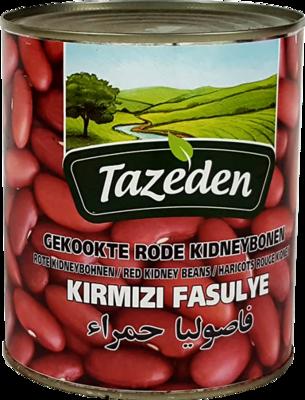TAZEDEN GEKOOKTE RODE KIDNEYBONEN 12X400 GR