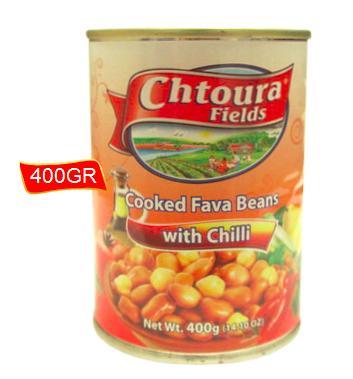 CHTOURA TUINBONEN WIT CHILI 24X400 GR
