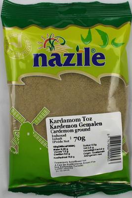NAZILE KARDEMON GEMALEN 15X70 GR ZAK