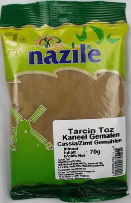 NAZILE KANEEL GEMALEN 15X70 GR ZAK