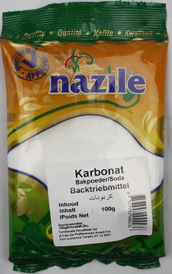 NAZILE BAKPOEDER 15X100 GR ZAK