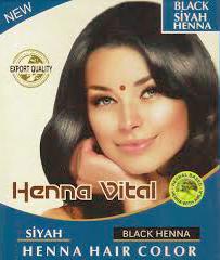 HENNA VITAL ZWART 10X60 GR