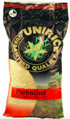 UNIRICE PARBOILED RIJST 3X4.5 KG