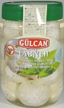 GULCAN LABNEH KAAS MET MINT 12X425 GR
