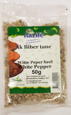 NAZILE WITTE PEPER HEEL 15X50 GR ZAK
