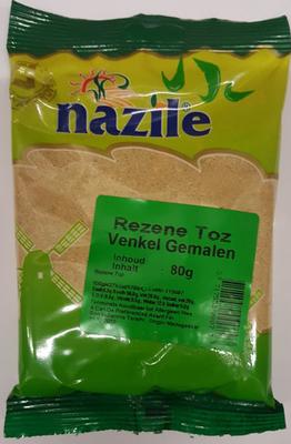 NAZILE VENKEL GEMALEN 15X80 GR