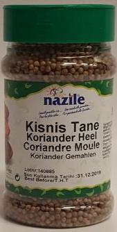 NAZILE KORIANDER 10X100 GR PET