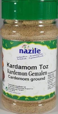 NAZILE KARDEMOM GEMALEN 10X120 GR PET