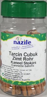 NAZILE KANEELSTOKJES 10X50 GR PET