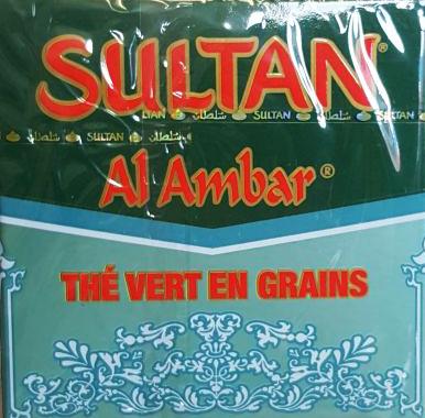 SULTAN GROENE THEE ALAMBAR 60X200 GR