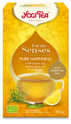 YOGI THEE FOR THE SENSES PURE HAPPINESS 6X20 STUKS