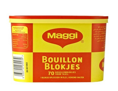 MAGGI BOUILLON BLOKJES 6X280 GR