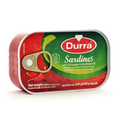 DURRA SARDINES HOT 50X125 GR