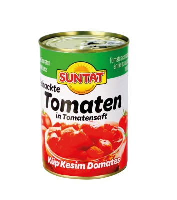 SUNTAT GEHAKTE TOMATEN OP TOMATENSAP 12X425 ML