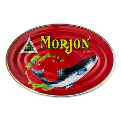 MORJON SARDINES IN TOMATESAUS 24X215 GR
