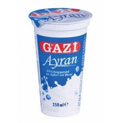 GAZI BARDAK AYRAN 20X250ML